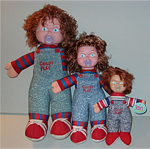 "3 Versions 12"" 18"" 24"" CHILDS PLAY Scary CHUCKY Doll"