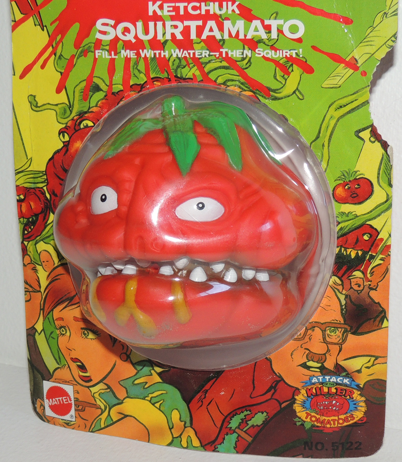 Attack of the killer tomatoes toys